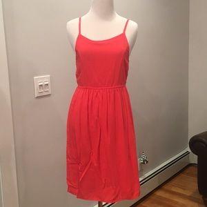 Coral Flow Dress
